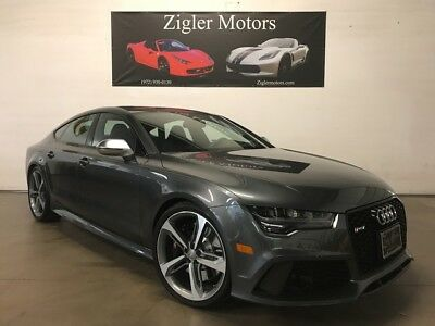 2017 Audi RS7 Prestige One Owner Clean Carfax 2017 Audi RS 7 12,582 Miles