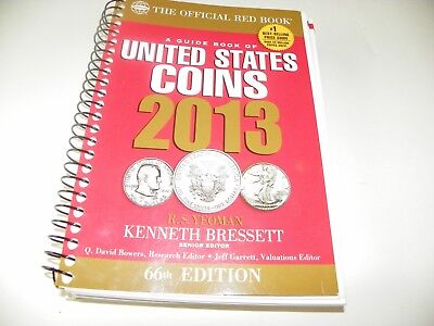 The Official Red Book: A Guide of Book of U.S. Coins 2013 66th Edition (Whitman)