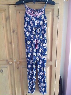 Girls jumpsuit age 6-7 or 7-8