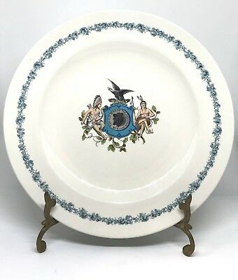 Old Man of Mountain Plate Mfg. by Royal Porcelain Works UK Design by Tiffany Co.