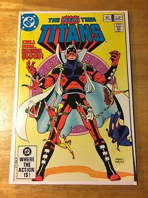 The New Teen Titans 22 Second Appearance Of Brother Blood Key Comic Dc