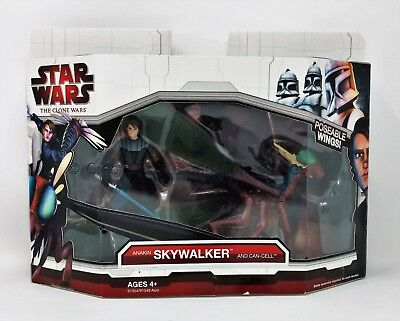 Anakin Skywalker and Can-Cell Star Wars The Clone Wars 2009 Unopened New!