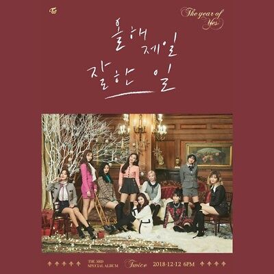 TWICE [The Year of Yes] 3rd Special Album A VER CD+PhotoBook+4Card+Sticker K-POP