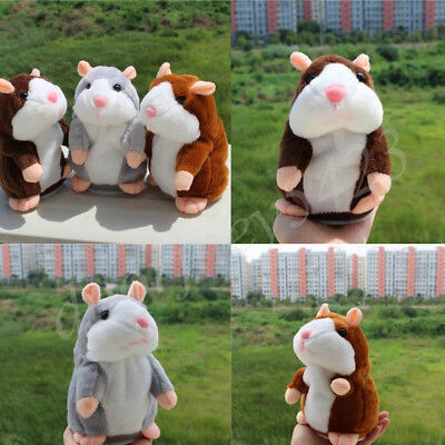 Cheeky Talking Hamster Talk Hampster Speak Record Voice Plush Cute Pet Cat Toys