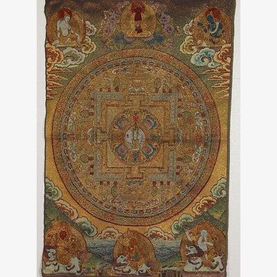 Tibet Collectable Silk Hand Painted Six samsara  Thangka RK021