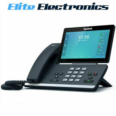 "Yealink T58A 7"" Screen Bluetooth Wifi Hd Voice Android 16 Line Ip Phone"