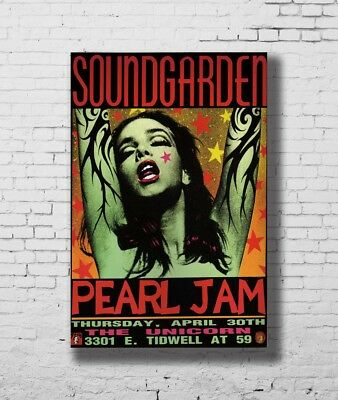 P-39 Art Chris Cornell Soundgarden HD Rock Music Band LW-Canvas Poster 24x36in