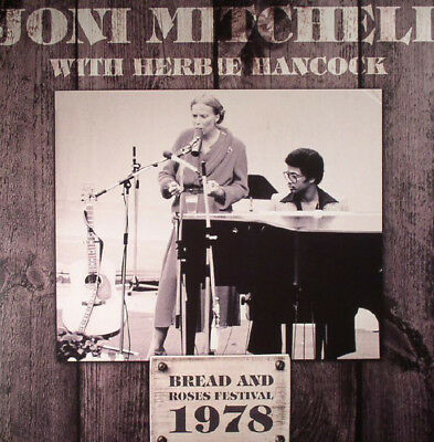 Joni Mitchell With Herbie Hancock Bread And Roses Festival 1978 Vinyl