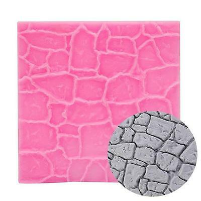 Texture Silicone Fondant Cake Decorating Mold Embossed Mould Mat Baking Tool LE