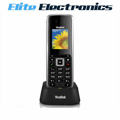 Yealink W52H Hd Business Ip Dect Cordless Handset For W52P