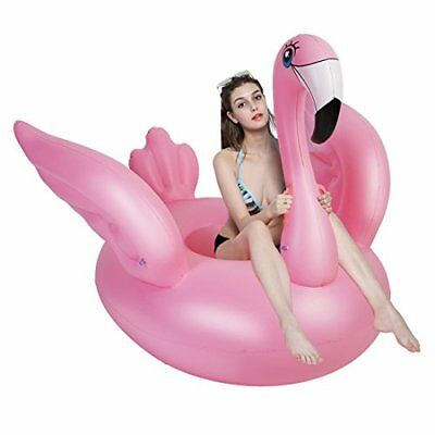 Inflatable Giant Pool Float Raft Lounge LARGE Ride On Blow Up Toy Swimming Summe