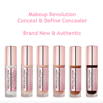 MAKEUP REVOLUTION | Conceal & Define Concealer PICK SHADE Tarte Shape Tape Dupe