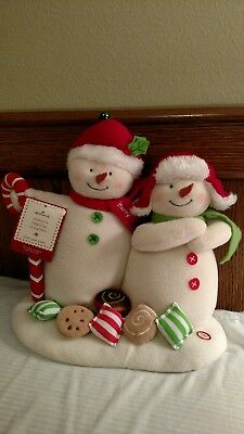 Hallmark Season's Treatings Snowmen With Sound And Motion - New!