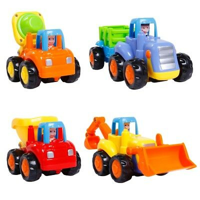 4pcs Classic Mini Pull Back Car Toy Car Model Vehicle Educational Toy Gift New