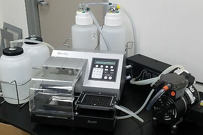 Warranty BioTek ELx405 96 well Microplate Washer + Filtration + Sonication j3