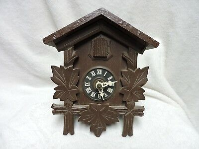 Vintage German Cuckoo Clock Parts Triberg Germany Black Forest Hubert Herr