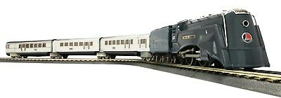 MTH Lionel Corp. Tinplate 295E O Gauge D/C Steam Passenger Set PS2 11-6030-1