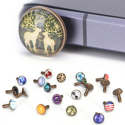 new fashion popular cool alloy dust plug for headphone hole universal Pip