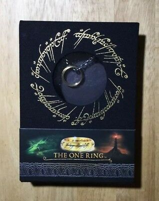 Lord Of The Rings THE ONE RING in Collector Box