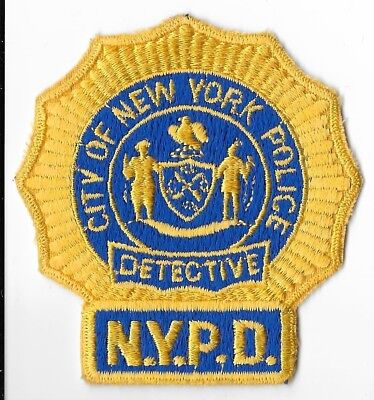 New York City Police Department (NYPD) Detective Patch