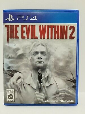 The Evil Within 2: PS4 videogame - NO SCRATCHES - tested + warranty
