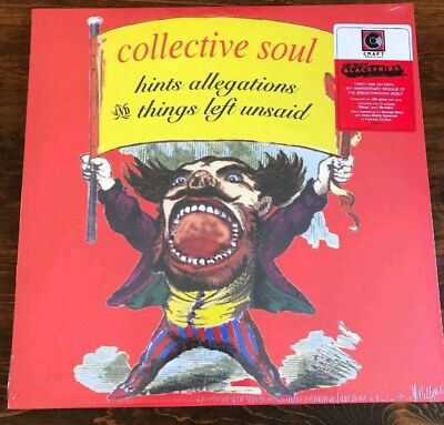 Collective Soul Hints Allegations Things Left LP Black Friday RSD 2018 180G Red