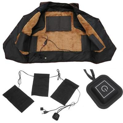 Electric USB DIY Heating Pad Cloth Thermal Vest Heat Jacket Mobile Warming Gear
