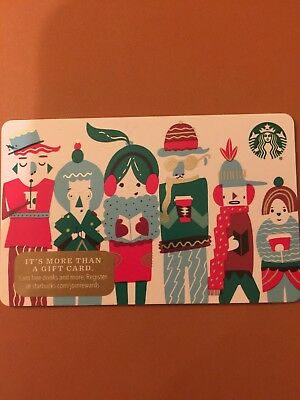 Starbucks 2018 Christmas Recycled Holiday Gathering Gift Card (no value, new)