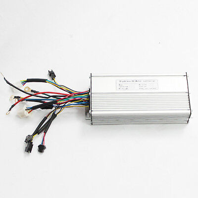 36 48V 1200W Brushless DC Sinus-Controller Twist Throttle mit Tastensperre
