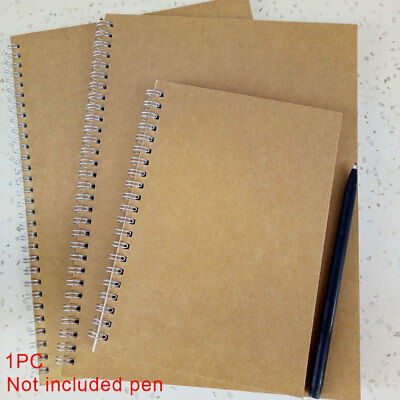 Fashion 5mm Dot Grid Spiral Coil Hardcover Notebook Journal Note Pad Book Memo