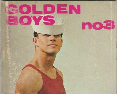 Golden Boys #3 1967 Rare! Displayed Scans Cropped By Me Men Male Physique Body