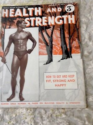 Health And Strength 16th December 1939 Magazine