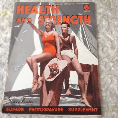 Health And Strength July 15th 1959  Magazine