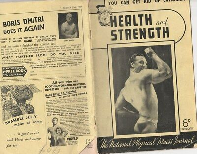 Health & Strength. National Physical Fitness Magazine. Oct 1947 Physique Gay?