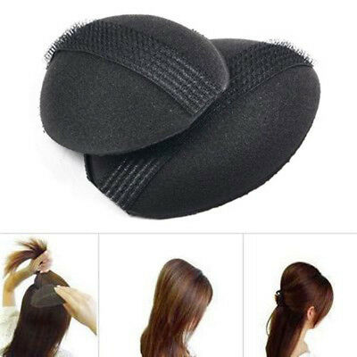 2 pcs Hair Volume Increase Puff Sponge Pad Bump Up Insert Base DIY Updo S GEE