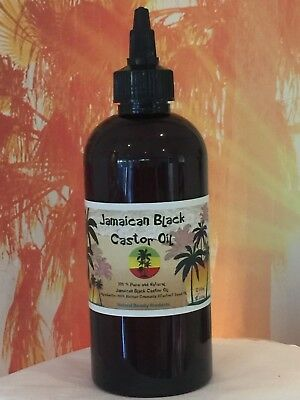 250ml 100% JAMAICAN BLACK CASTOR OIL -Grow hair naturally