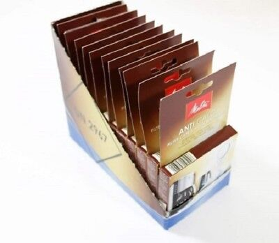12 Packs X Melitta Descaling Tablets Kettle Coffee Machine  6545475X12