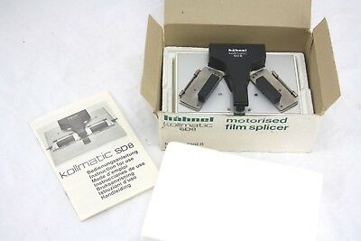 HAHNEL MOTORISED dual SUPER 8 and 8MM SPLICER (klebepresse kollmatic colleuse)