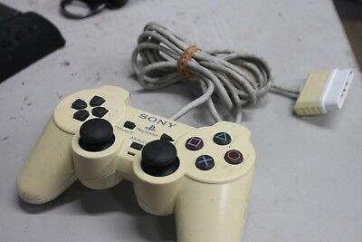 Official Sony PlayStation 2 PS2 Dual Shock 2 Analog White Controller