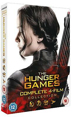 The Hunger Games: Complete 4-film Collection Xmas Special (Box Set) [DVD]