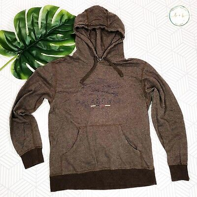 707cd001fe0da Patagonia Geodesic Flying Fish Hoodie Medium Alpaca Brown Pullover Organic