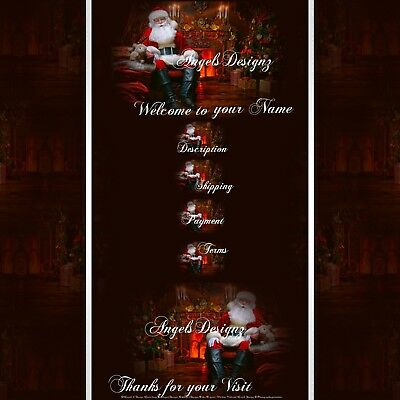 Santa is Coming Christmas X-MAS Responsive Listing mobile friendly Template 999