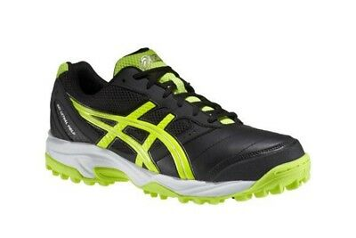 Mens Asics Gel Lethal Field P316Y 9007 Black Lime Lace Up Trainers