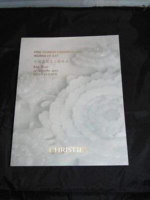 Christie's FINE CHINESE CERAMICS AND WORKS OF ART  AUCTION Catalog