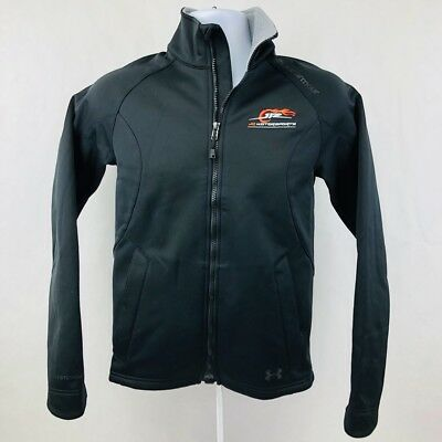 Under Armour Womens Storm 2 Infrared Cold Gear Black Jr Motorsport Small Jacket