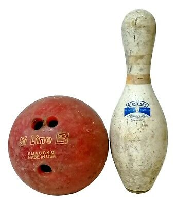 quille et balle quilles vintage amf made in usa années '70