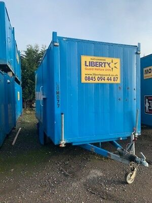 Mobile Site Welfare Unit Cabin Canteen Toilet Generator Towable - 16'
