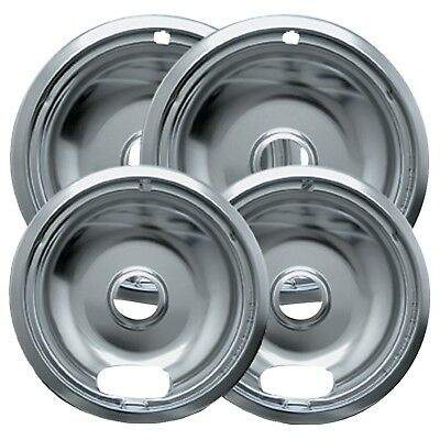 New Electric Range Drip Bowls Chrome Style A for Kenmore Maytag by Range Kleen