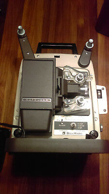 Vintage Bell & Howell Super 8 Design 346A 8mm Movie Film Projector Working Bulb