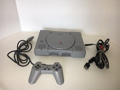 Sony PlayStation Launch Edition Gray Console PS1 Console WORKS GREAT!